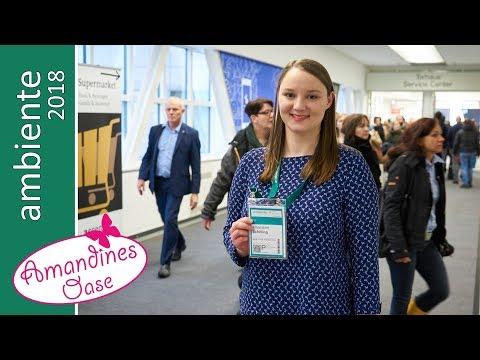 Ambiente Messe Frankfurt 2018 - Neuheiten & Trend in Dining, Giving, Living - mit Verlosung