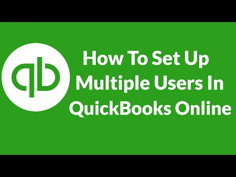 Lesson 11 How To Set Up Multiple Users In QuickBooks Online