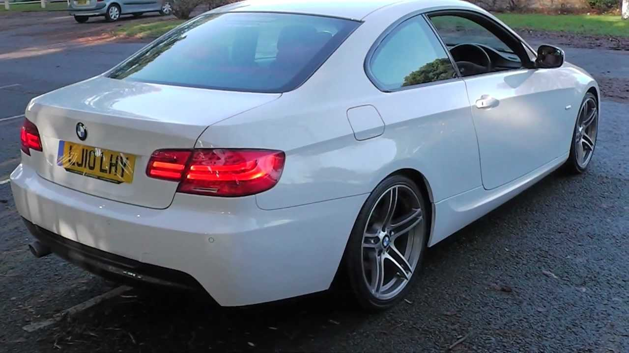 bmw 320d m sport coupe 20 495 youtube. Black Bedroom Furniture Sets. Home Design Ideas