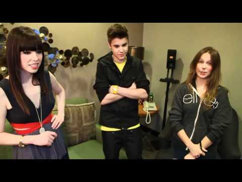 Justin Bieber and Carly Rae Jepsen Take a Quiz about Canada and Celine Dion!