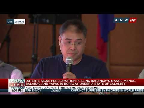 WATCH: Officials give updates on first day of Boracay closure | 26 April 2018