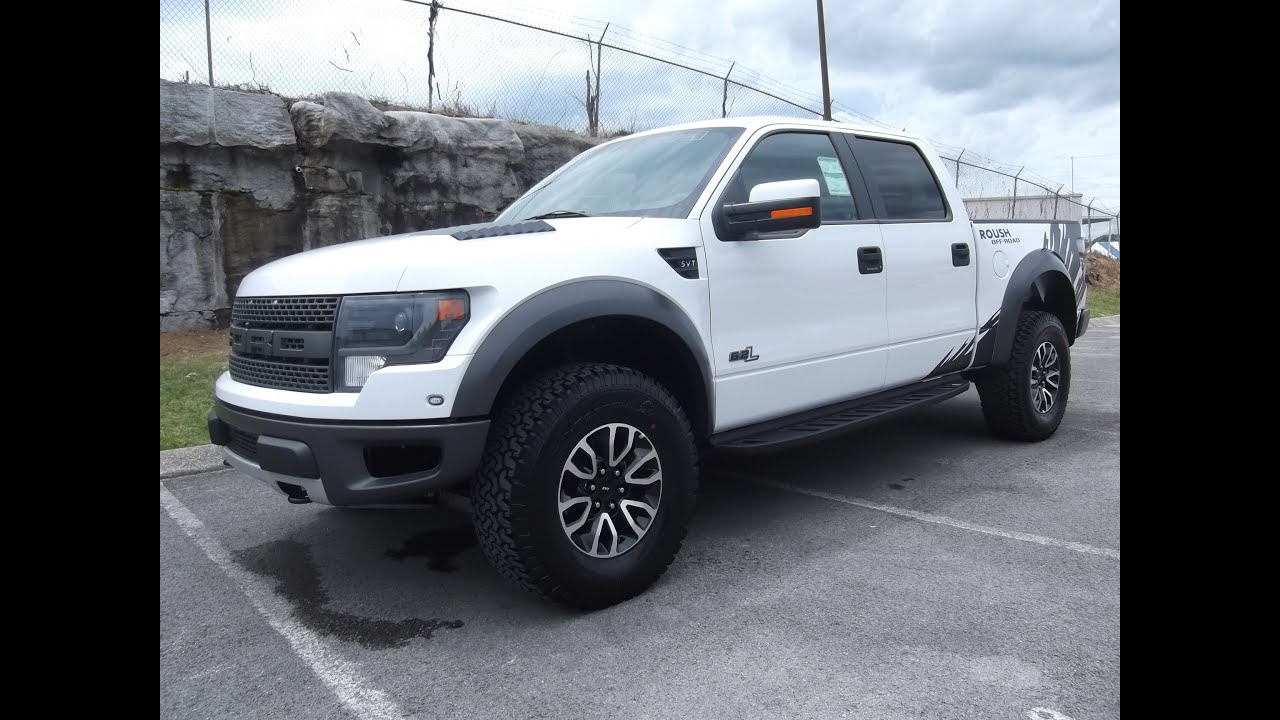 2013 Roush Raptor White With Graphics Still Available For Sale At
