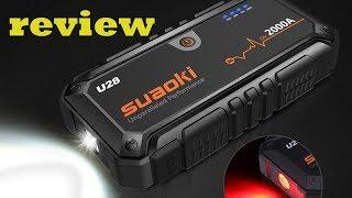 Suaoki U28 2000A Peak in use review 2019