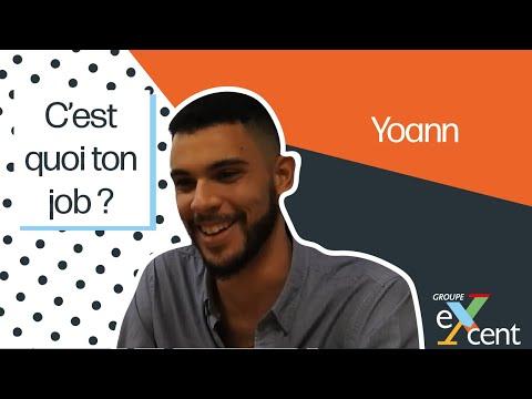 C'est quoi ton job ? - Yoann PLUMEY - Pilote études