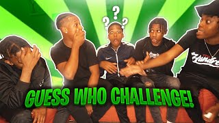 GUESS WHO CHALLENGE FT REUBZ4K, KSLDN, RONZO & ASMXLLS ( HE GOT BAITED OUT 🤭)