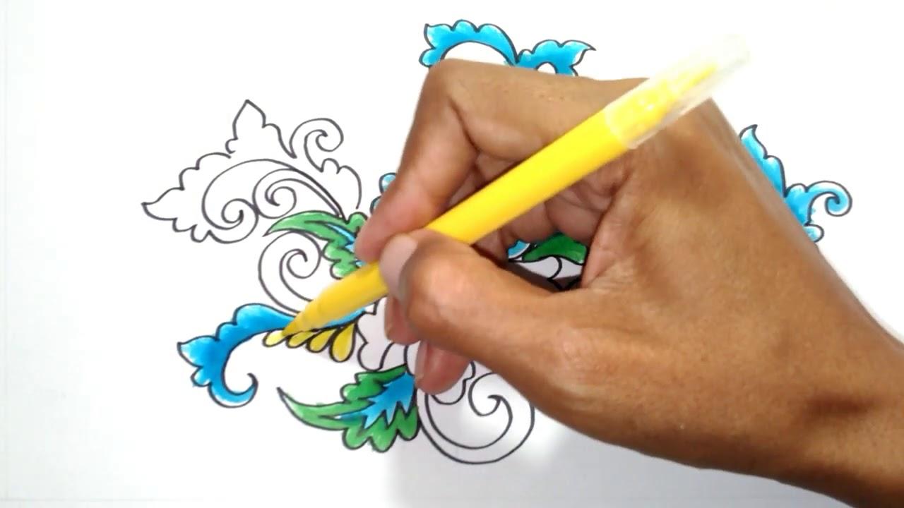 Ragam Hias Flora Ku - YouTube