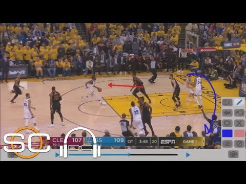 Tim Legler Breaks Down Film Of Game 1 OT Play That Changed Everything For Cavs | SC With SVP | ESPN