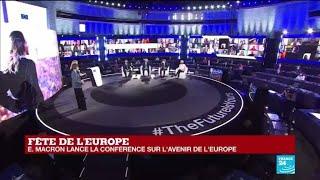 """Conférence sur l'avenir de l'Europe : Macron défend un """"modèle Européen"""" face à la pandémie"""