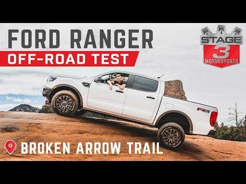 2019 Ford Ranger Off-Road Test - Broken Arrow Trail Sedona, AZ