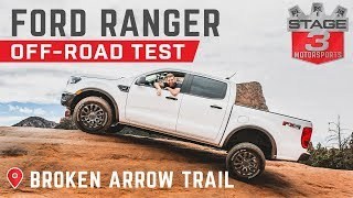 2019 Ford Ranger Off-Road Test - Broken Arrow Trail Sedona, AZ