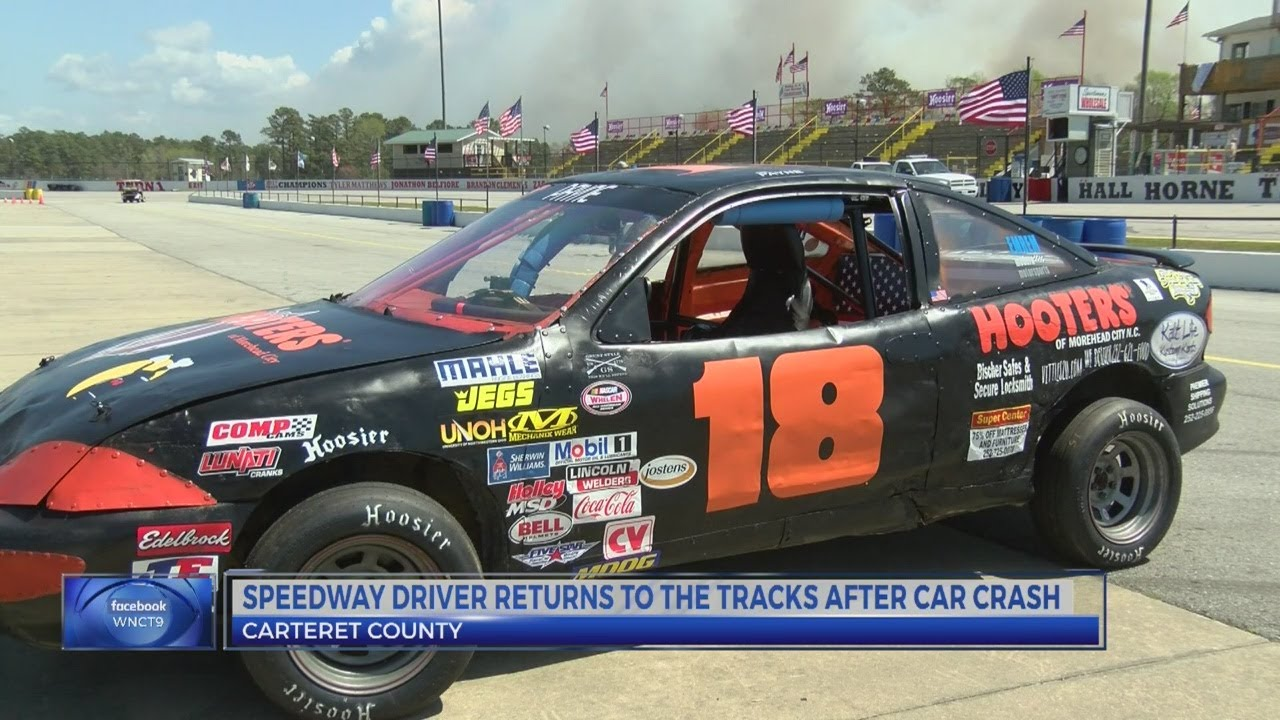 Driver returns to Carteret County Speedway after accident last year ...