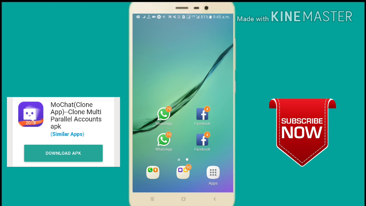 How to use mo chat app clone multi parallel accounts