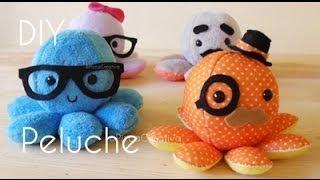 DIY Pulpito-Peluche Plush con Moldes