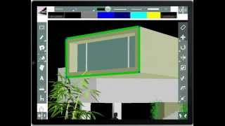 navigating projects and image insertion in cad touch 5