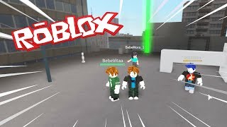 BEBE MORA IS VERY MANCAAAAAA!!! 😱😱😱 PARKOUR at ROBLOX with BEBE MILO TIMO AND VITA