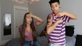 TATTOO PRANK ON GIRLFRIEND!!!