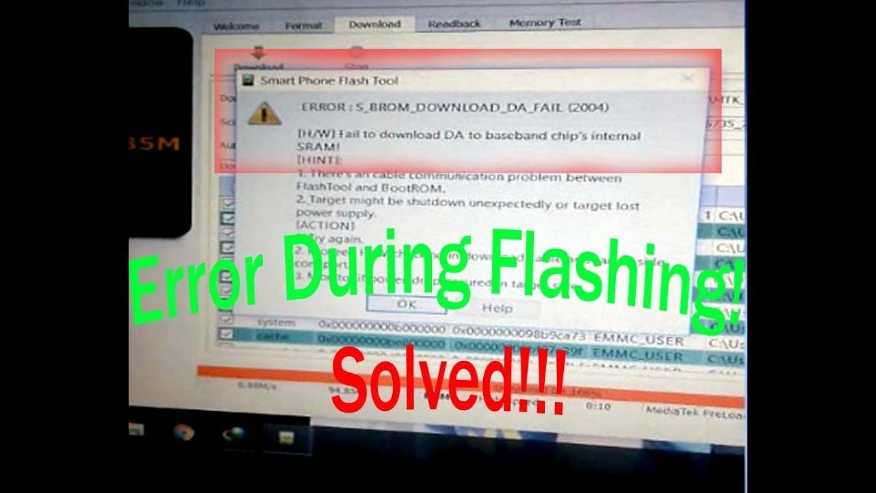 Flashing error in lenovo a2016a40 sp tool fix tricks flood