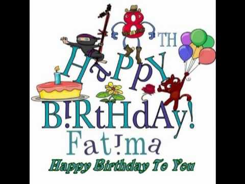Fatimas 18th Birthday Song