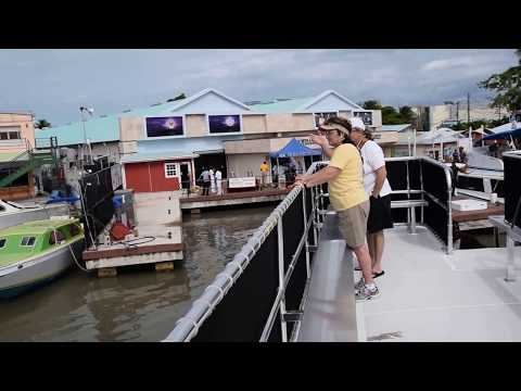 Belize City Docking Port for Cruise Ship Tender