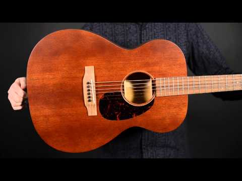 Elderly Instruments Demo: Martin 000-15M
