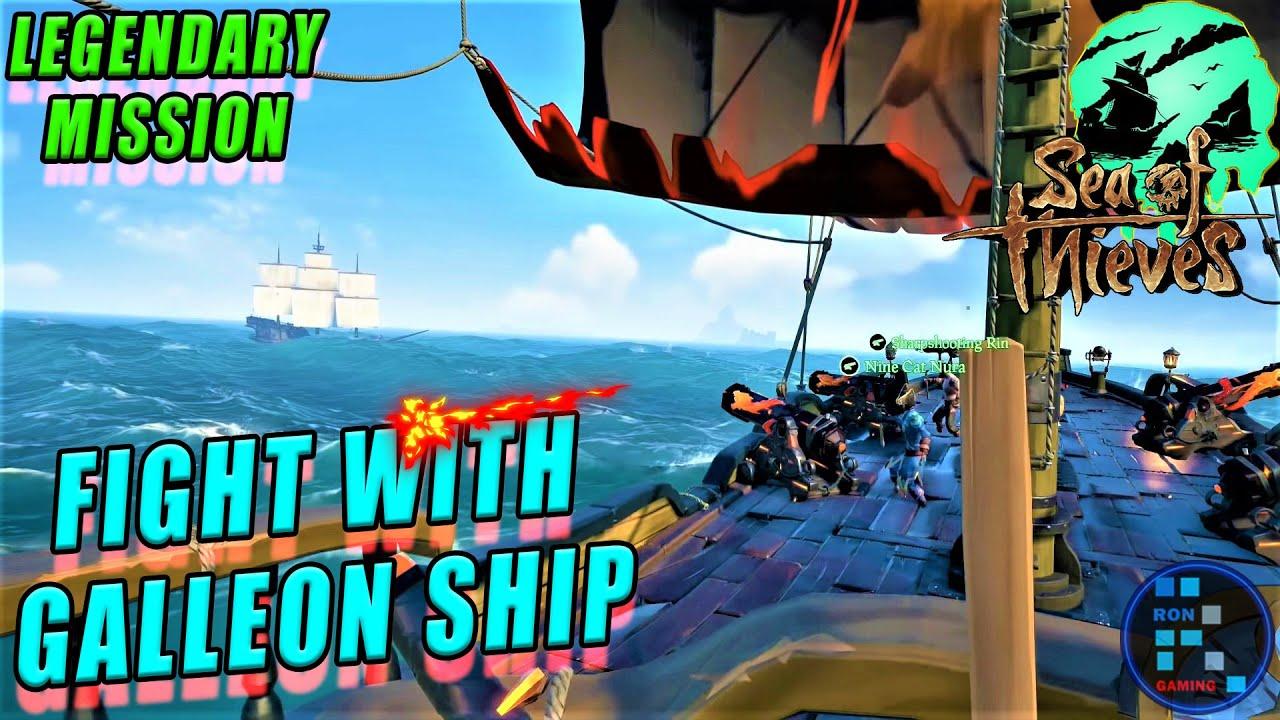 Sea Of Thieves | Mission K Bich Me Ek Galleon Ship Ko Dubadiya