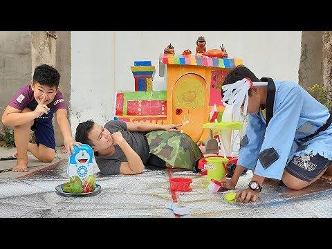 Trò Chơi Bé Pin Play House ❤ ChiChi ToysReview TV ❤ Đồ Chơi Trẻ Em Baby Doli Fun Song Bài Hát Vần Te