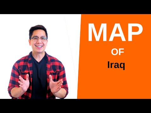 Iraq Map – 🌍 Interactive Map of Iraq and How to Draw it (Cities and Geography)