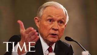 Attorney General Jeff Sessions Testifies Before The Senate Judiciary Committee | TIME thumbnail