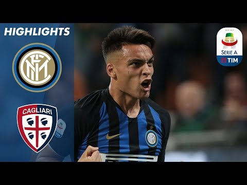 Inter 2-0 Cagliari   Inter Win 3rd Game In A Row    Serie A