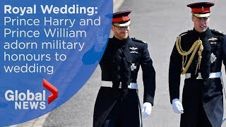 Royal Wedding: Prince Harry, Prince William arrive at St George