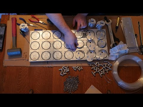 Skipping ahead - time-lapse assembly of the 21-station pneumatic fixture