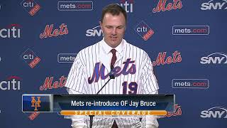 New York Mets OF Jay Bruce on New York struggles: Overblown!!