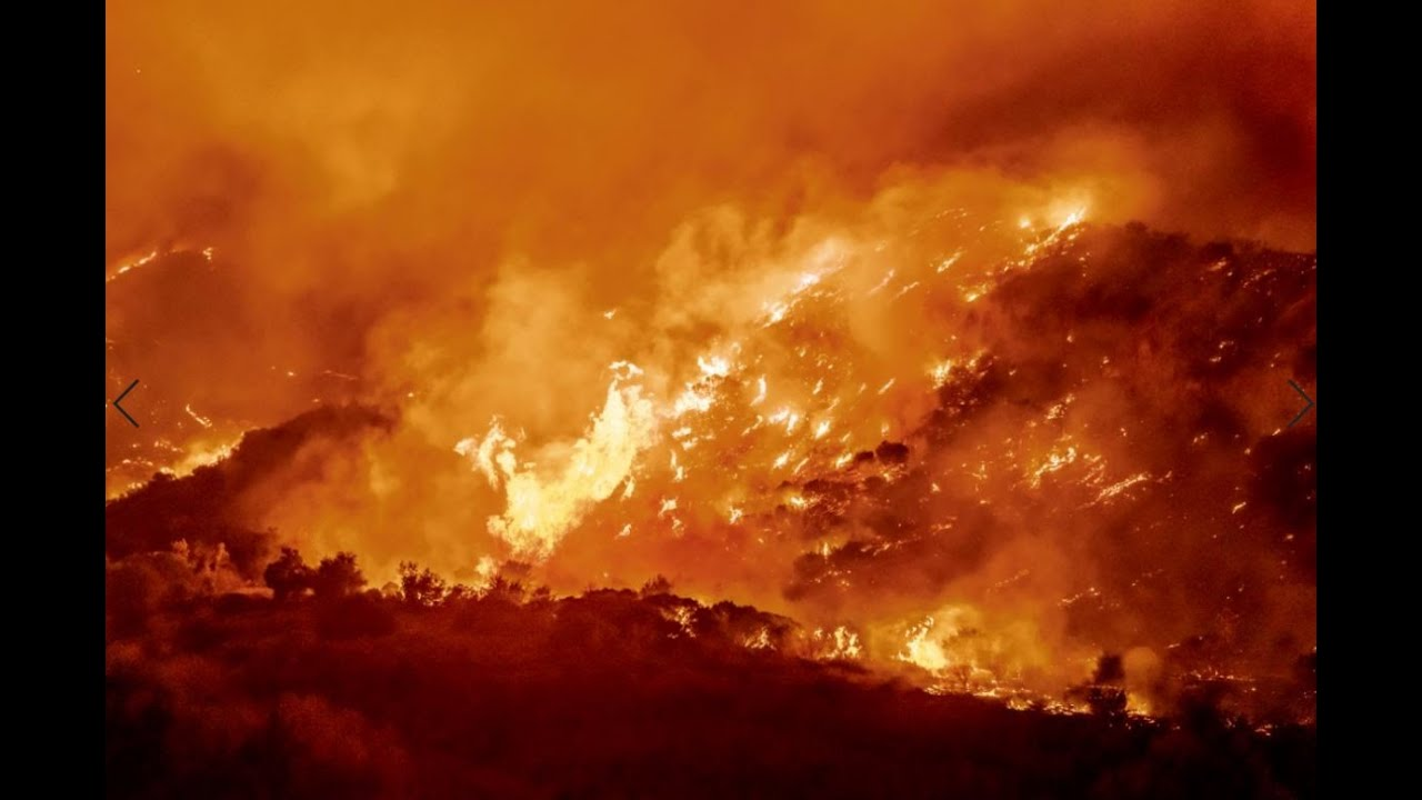 Bond Fire Erupts Outside Los Angeles, Forcing Thousands to ...