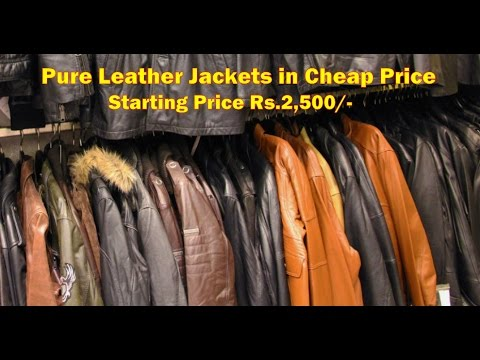 Pure Leather Jackets In Cheap Price Manufacturing All Leather