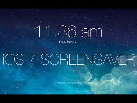 [MAC] IOS7 Screensaver!