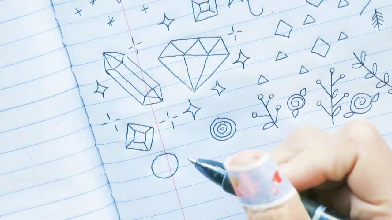 tumblr doodles notebook doodle ideas doodles by sarah youtube
