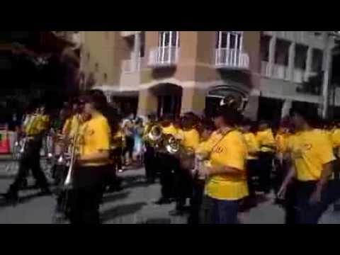 Miami Lakes Middle School band 2013