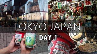 Travel Vlog: Tokyo, Japan | Day 1
