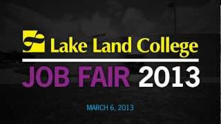 Lake Land College - Job Fair 2013