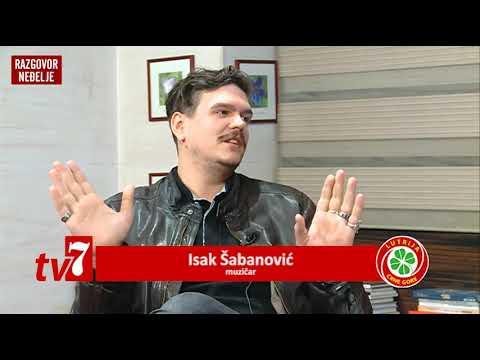 Razgovor neđelje, tv 7, Isak Šabanović - Jelka Malović