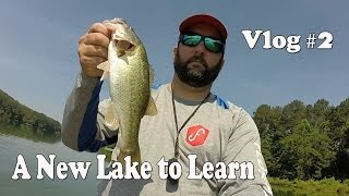 A Quick Trip to Learn a New Lake Near My House. VLOG #2