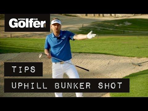 Soren Kjeldsen short game tips: How to play the uphill bunker shot