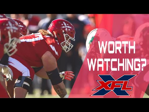 Was The XFL Good? Is it worth watching? Review and thoughts on Week 1