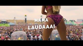 Almklausi & Specktakel - Mama Laudaaa (Raw Salvation Hardstyle Bootleg) | HQ Lyric clip