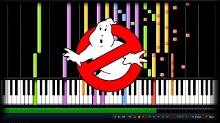 GHOSTBUSTERS THEME !!