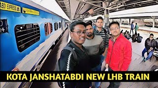 Delhi to Mathura  Kota Janshatabdi Express The New LHB Train