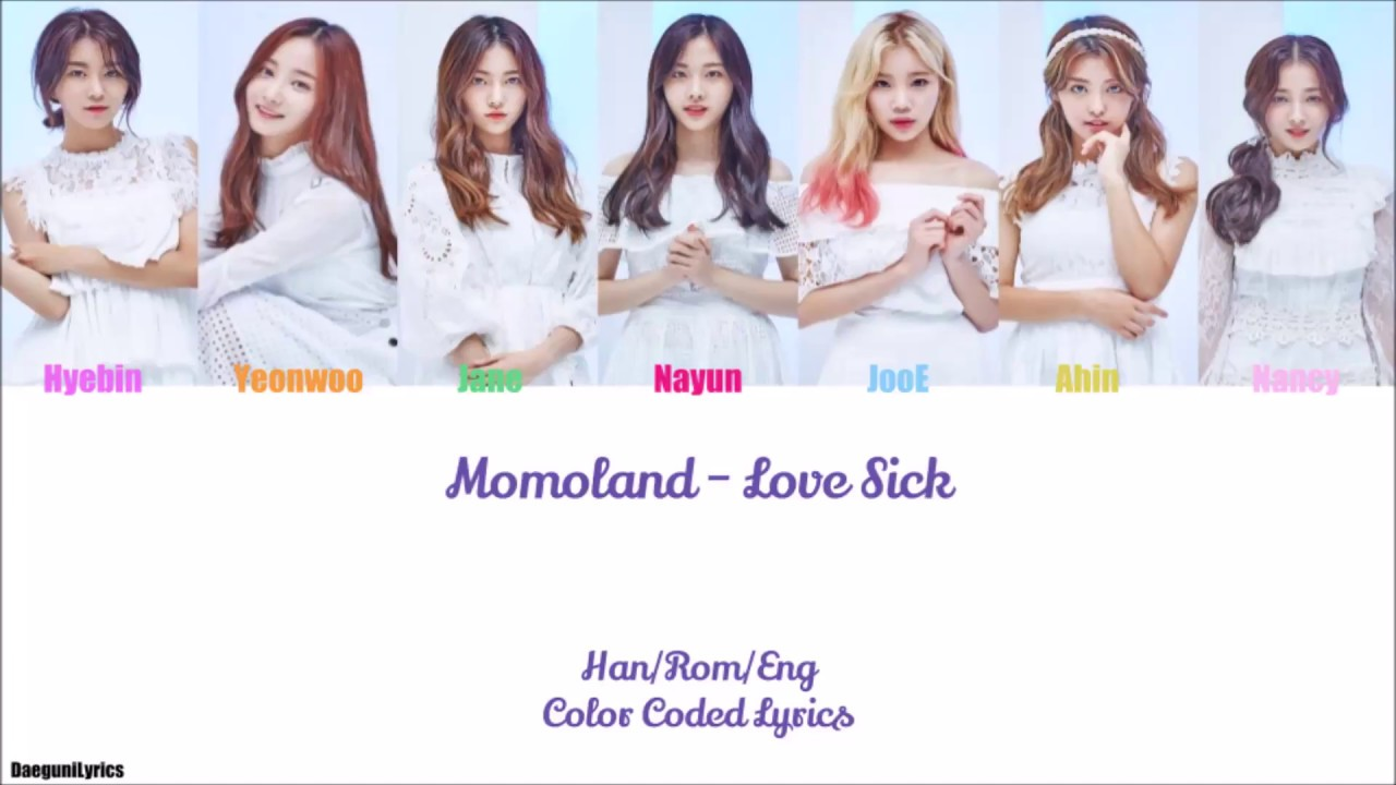MOMOLAND – Love Sick (상사병)