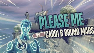 Please Me by Cardi B & Bruno mars| Fortnite montage