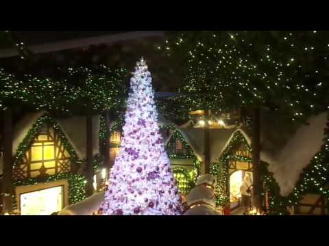 Christmas market in Rothenburg ob der Tauber Germany 2016