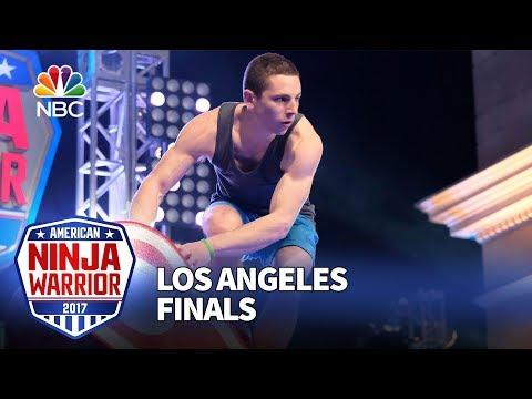 Josh Levin at the Los Angeles Finals - American Ninja Warrior 2017